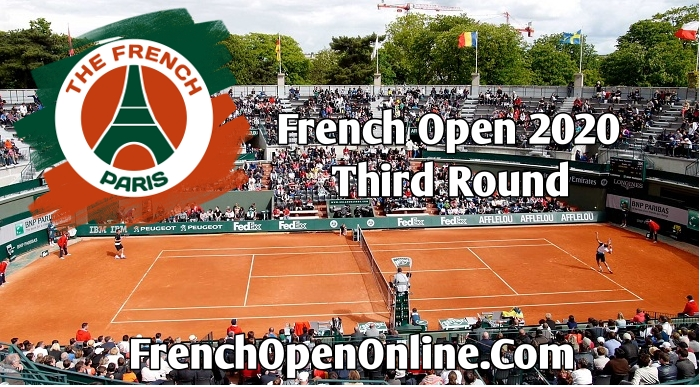 French Open Round 3 Live Stream