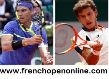 Live Rafael Nadal vs Dominic Thiem Semifinal Streaming