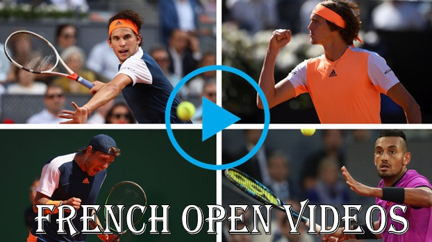 French Open Videos