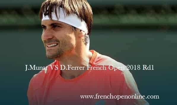 j.munar-vs-d.ferrer-first-round-french-open-2018-live