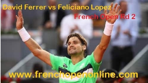 David Ferrer vs Feliciano Lopez live stream