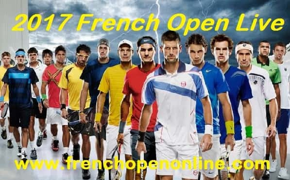 French Open tennis streaming live