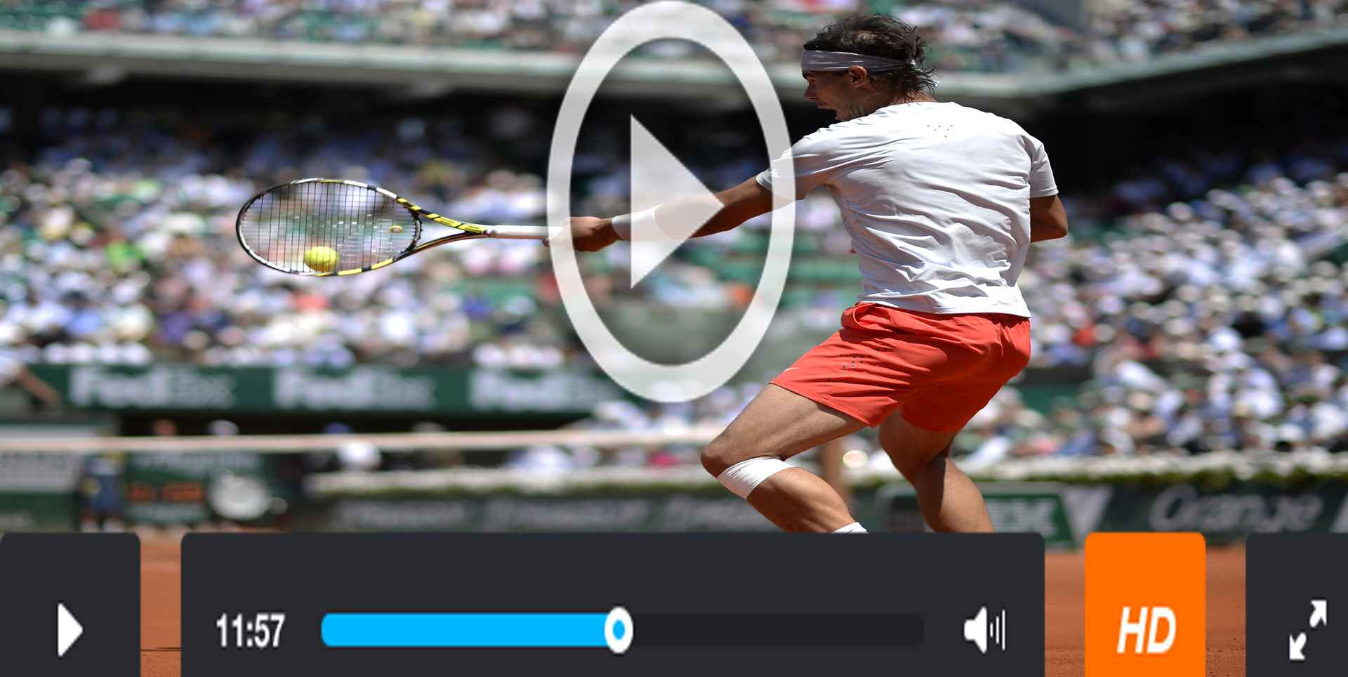 French Open Online | Live Roland Garros Tennis slider